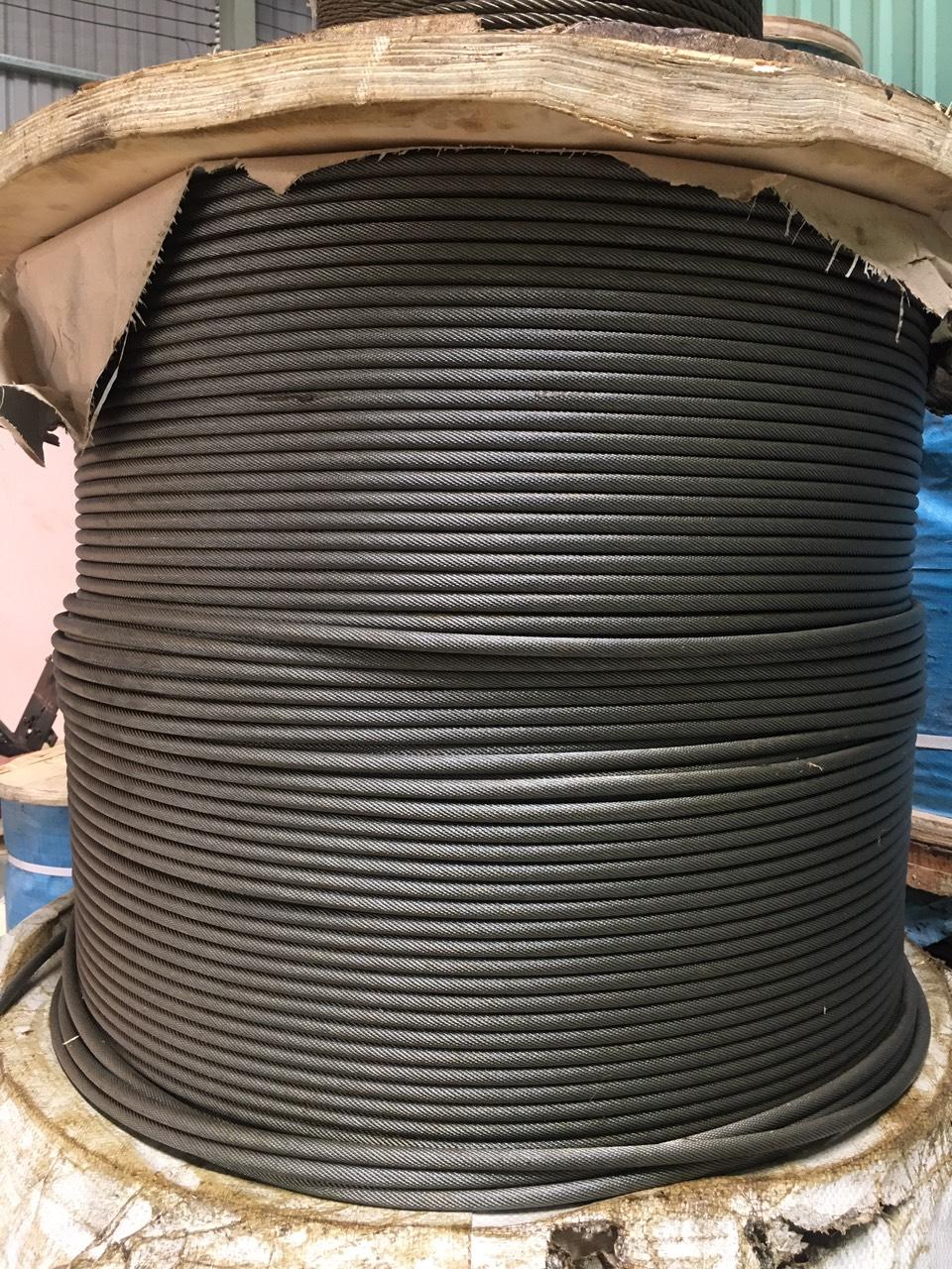 Dây cáp thép mạ kẽm chống xoắn (35×7+IWRC)