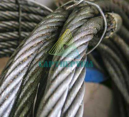 Những sợi cáp thép bị xoắn do nhiều nguyên nhân khác nhau