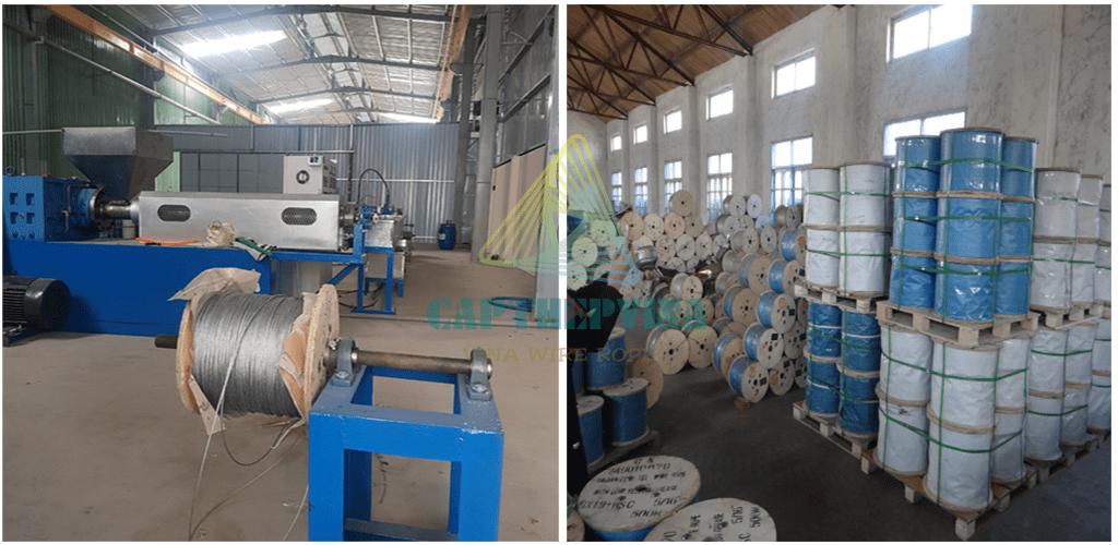 Địa bàn cung cấp cáp thép bọc nhựa tại Phú Yên